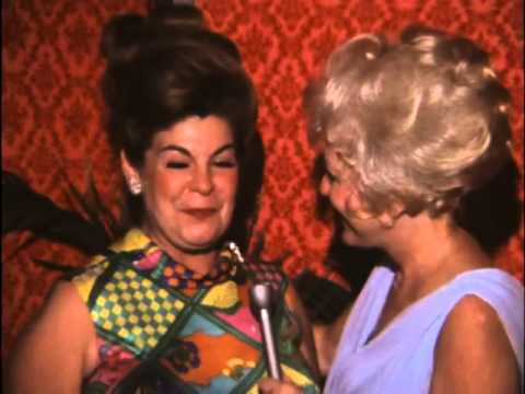 Bette Rogge interviews Ann Miller and other stars, Steven Br