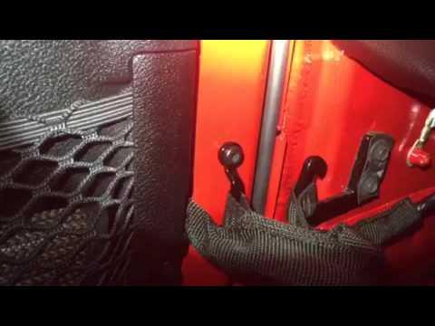 2015 Jeep Wrangler Driver Side Water Leak Youtube