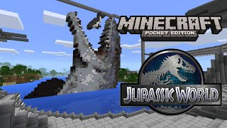 Repeat youtube video Jurassic World in Minecraft Pocket Edition!