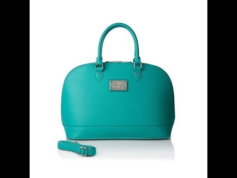 Joy Mangano St Tropez Runway Chic Classic Handbag
