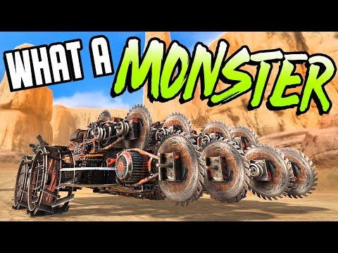 Crossout - YES, THIS THING EXISTS And It's Amazing! - Crossout Gameplay
