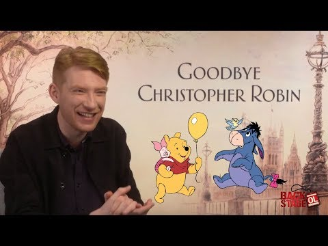 Domhnall Gleeson Reveals His Favorite Hundred Acre Wood Character | GOODBYE CHRISTOPHER ROBIN