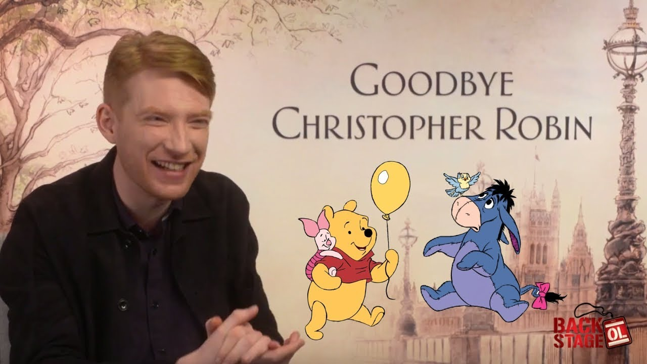 Domhnall Gleeson Reveals His Favorite Hundred Acre Wood ...