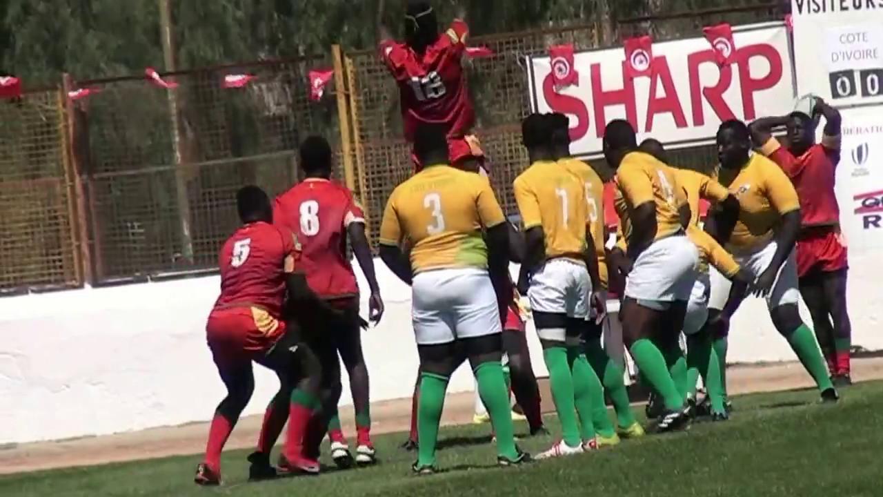 Rugby Afrique Trophée Barthes U20– Groupe B 22/04/ 2017 classement SÉNÉGAL vs CODE D'IVOIRE (32
