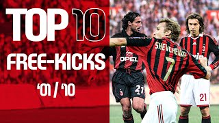 Top 10 Collections | Free-kicks | 2001-2010