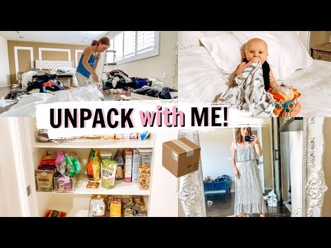 UNPACK WITH ME! NEW HOME UPDATE AND PLANS | Kendra Atkins
