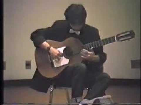 """""""Es Lilin"""" Indonesian Traditional Music on Classical Guitar"""