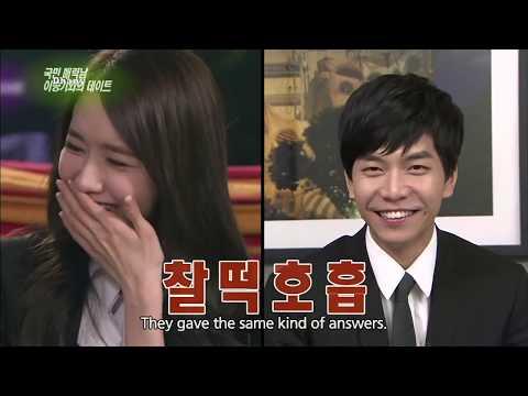 Lee seung gi admits secretly hookup shin min ah