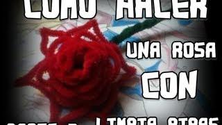 Repeat youtube video como hacer una rosa con limpiapipas Parte 2