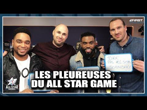 LES PLEUREUSES DU ALL STAR GAME ! (Feat. Broky Brawks) NBA First Day Show #37