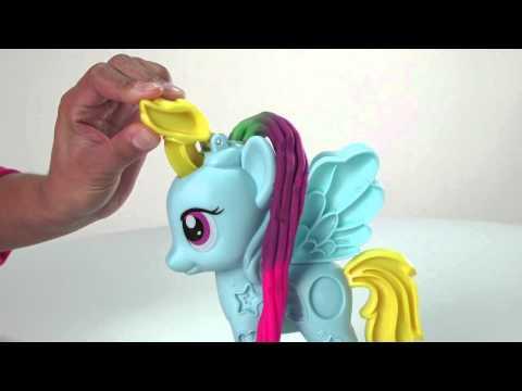 Play-Doh U.S. | Demo | Rainbow Dash Style Salon