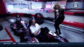 Abby Hornacek: Fox Sports Arizona Feature: Phoenix Suns Hit Octane Raceway
