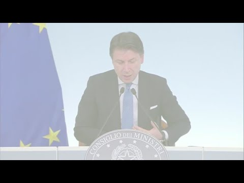 Italy PM Giuseppe Conte on coronavirus containment measures: 'Stay at home'
