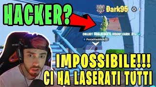💥 POW3R AND YOUR TEAM ARE USED by A HACKER THAT POI SPECTANO IN LIVE 😱 Fortnite Italy