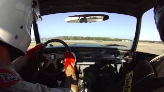 DTM BMW 2002tii with M42 swap at NJMP Racetrack