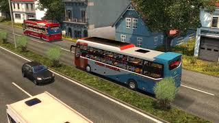 [THACO MOBIHOME] Hành trình Phía Tây Bắc MAP VN cùng xe khách cty Chín Nghĩa game ETS2