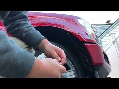 2018 F150 LED headlight install and bulb replacement - Wheel Well access