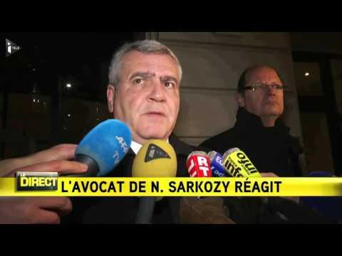 "Thierry Herzog, avocat de Nicolas Sarkozy : ""c'est une satisfaction"""