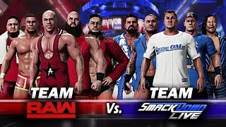 WWE Survivor Series 2017 Team Raw VS Team SmackDown Live 5-on-5 Elimination Match!! WWE 2K18 thumbnail