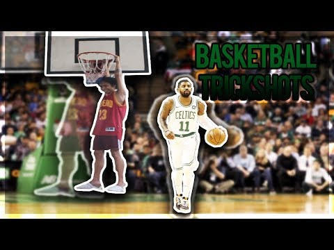 Recreating Famous NBA Players Signature Moves!!! Basketball Trick Shots Part 2