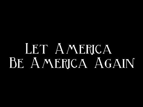 Let America Be America Again  Langston Hughes