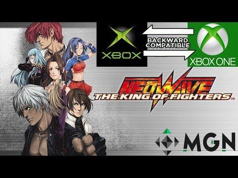 KOF Neo Wave-Probando la Retro compatibilidad con la primera Xbox