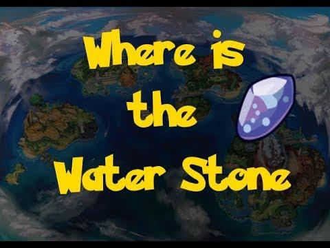 Where Is: The Water Stone (Location 2) (Pokemon Ultra Sun/Moon)