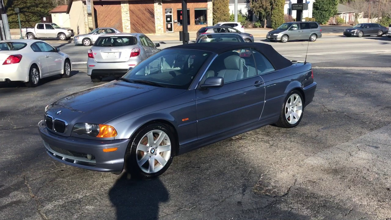 Sold 2001 Bmw 325i Convertible