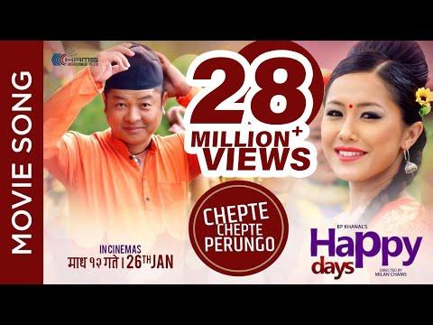 "New Nepali Movie -""Happy Days"" Song    Chepte Chepte Perungo    Rajan Raj Siwakoti, Anju Panta"