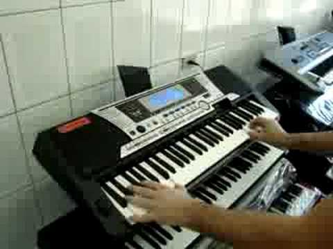 demo yamaha psr 550 jump van halen na teclacenter youtube. Black Bedroom Furniture Sets. Home Design Ideas