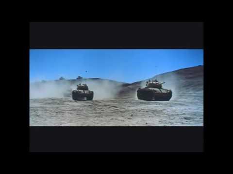 Italian infantry are finally overwhelmed by British tanks, Western Desert, 1942