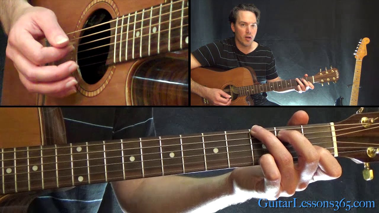 David Bowie Heroes Guitar Lesson Easy Guitaracoustic Chords
