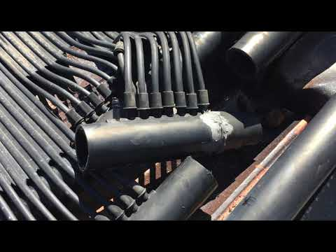 Solar manifold repair. Swimming Pools demystified. Solar heater fix