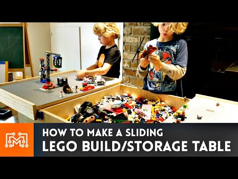 Lego Build Table // How-To