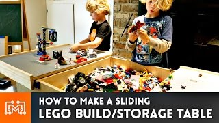Lego Build Table // How-To | I Like To Make Stuff