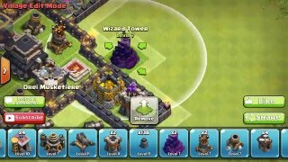 Clash of Clans Town Hall 7 TH7 Hybrid Base 1 Air Sweeper 2016