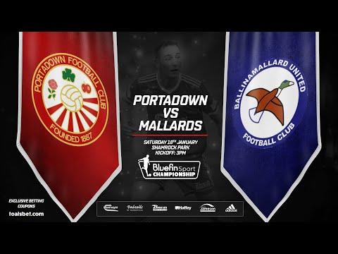Portadown Ballinamallard Goals And Highlights