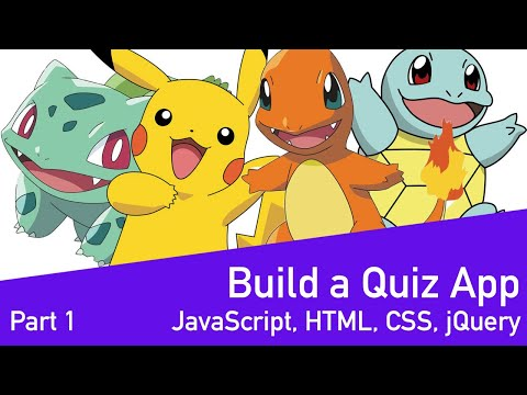 Code With TJ - Building A Quiz App With JavaScript - Part 1/3