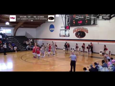 Greenville College vs MacMurray College Full Game