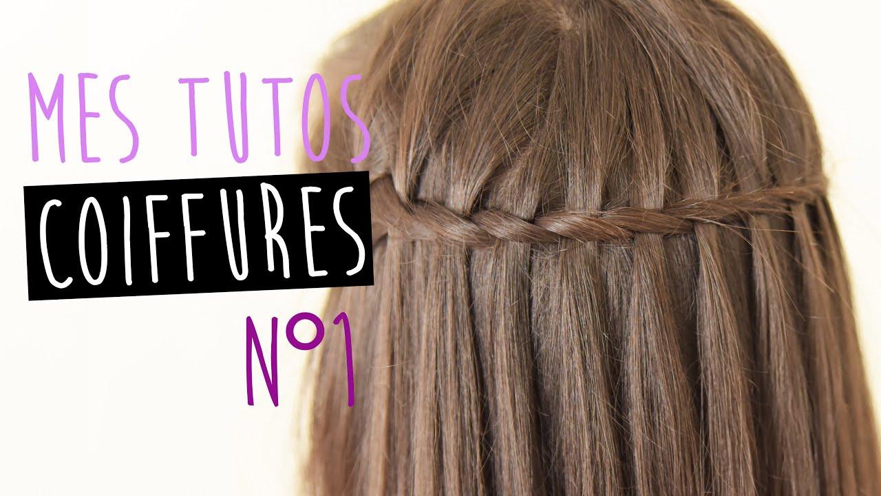 Tuto Coiffure N 176 1 La Tresse Cascade Youtube