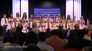 "Дитячий хор ""Світанок"" - Jesus, Glory, Glory"