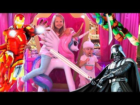 Детский мир! Маша и Медведь, Пеппа, Человек Паук, Звездные войны, Черепашки Ниндзя, Ксюша и Алиса!