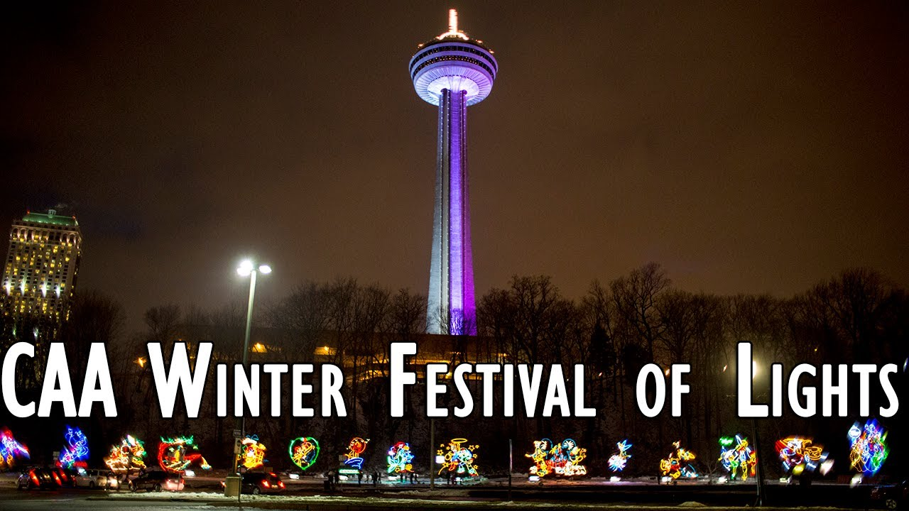 Caa Winter Festival Of Lights In Niagara Falls 2017