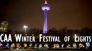 CAA Winter Festival of Lights in Niagara Falls 2013