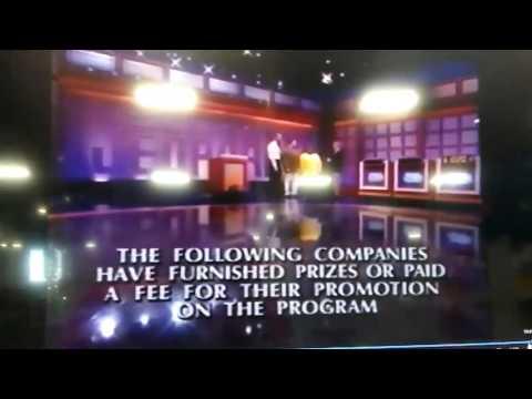 Jeopardy! Season 17 Credits (10/30/2000) Brad Rutter.