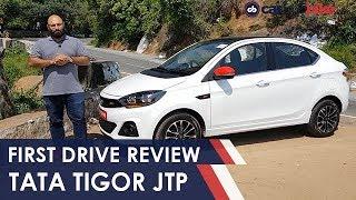 Tata Tigor JTP: Review   NDTV carandbike