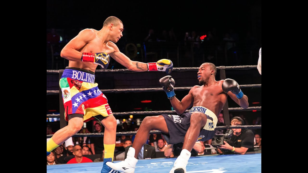 Jackson vs Uzcategui FULL FIGHT: Oct 6, 2015 - PBC on FS1