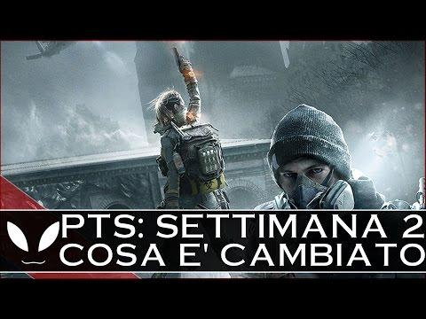 The Division: PTS Seconda Settimana - Cambiamenti ARMI/SET/Rateo Drop ( #TheDivision #PTS )