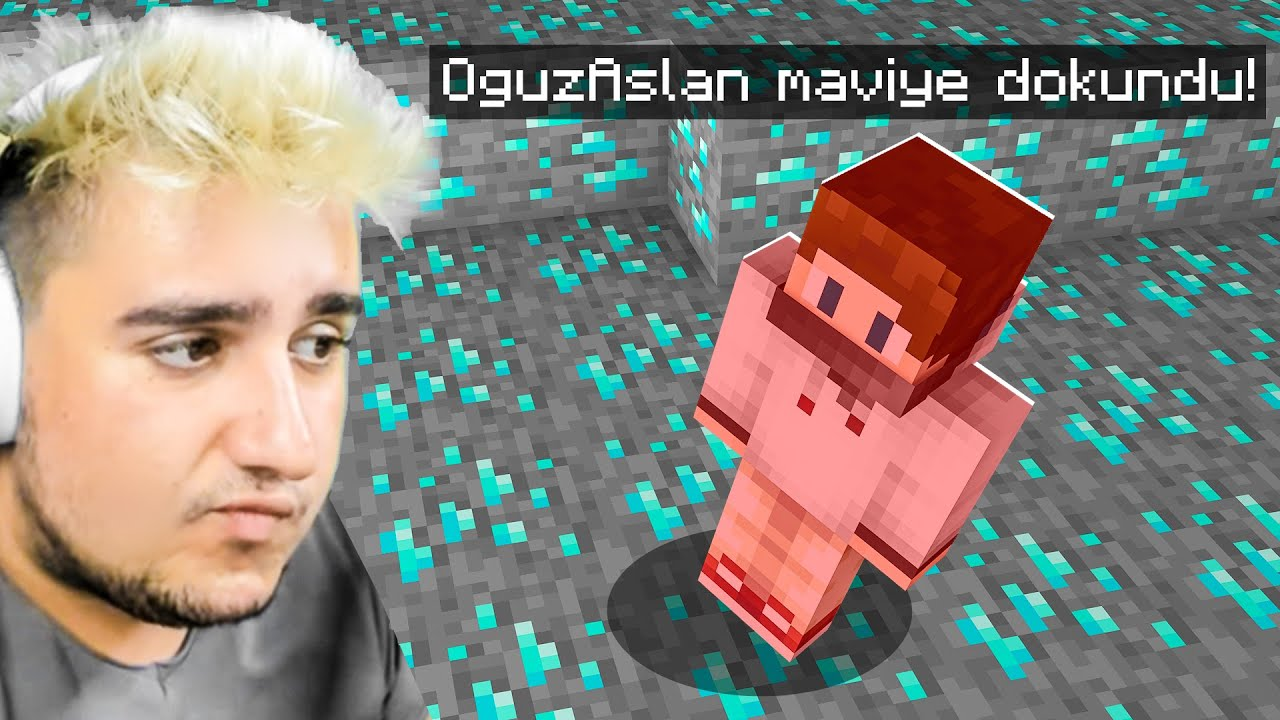 Minecraft, mavi'ye dokunursan ölürsün!