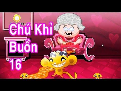 Chú Khỉ Buồn 16 - Hài Hước [game.24hm.vn]